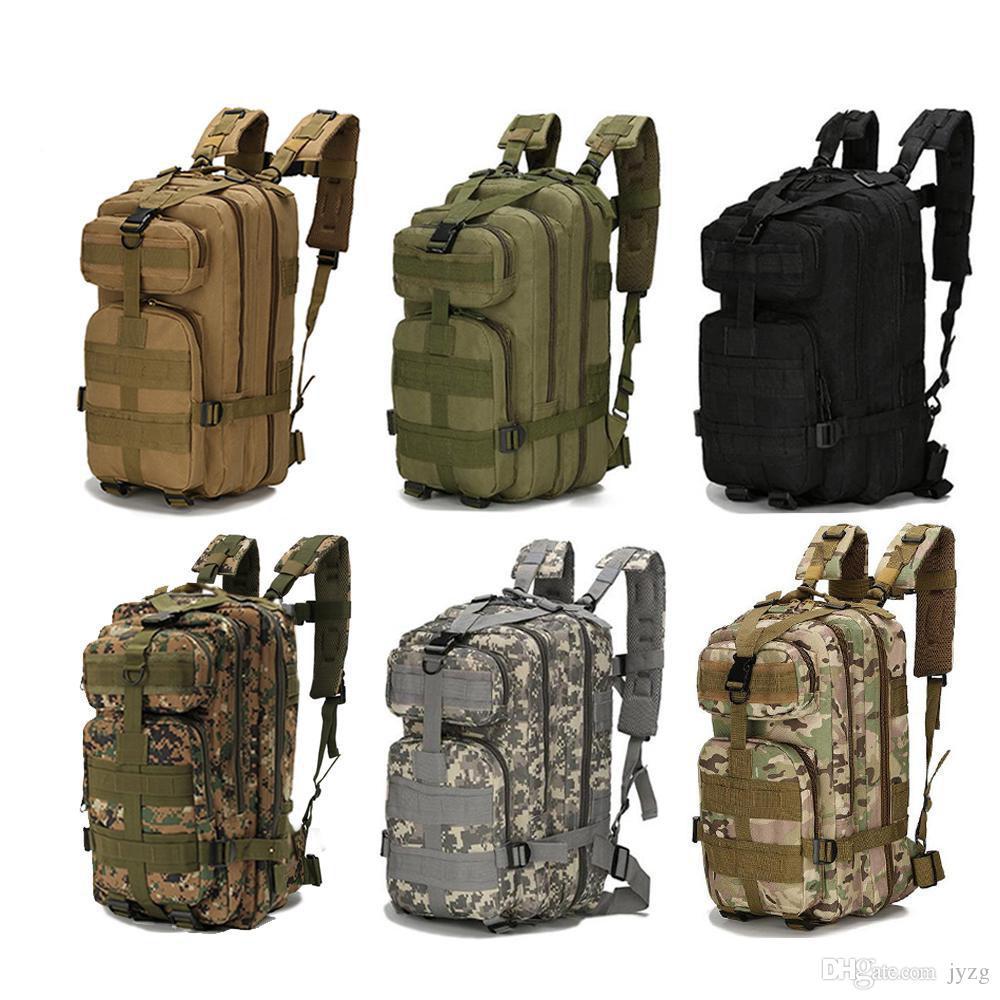 d4e1030fa8 Acquista 30L 3P Attacco Zaini Militari Tattici Unisex Outdoor Borsa Da  Viaggio Alpinismo Zaino Trekking Campeggio Trekking Zaino Sacchetti Militari  A $10.21 ...