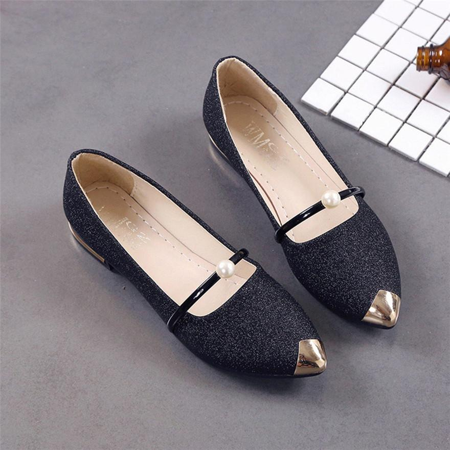 Designer Dress Shoes Women Pointed Toe Ladise Casual Low Heel Pumps Women  Chaussure Femme Talon Schoenen Vrouw Scarpe Donna T Slip On Shoes Mens  Loafers ... 1553a6568604