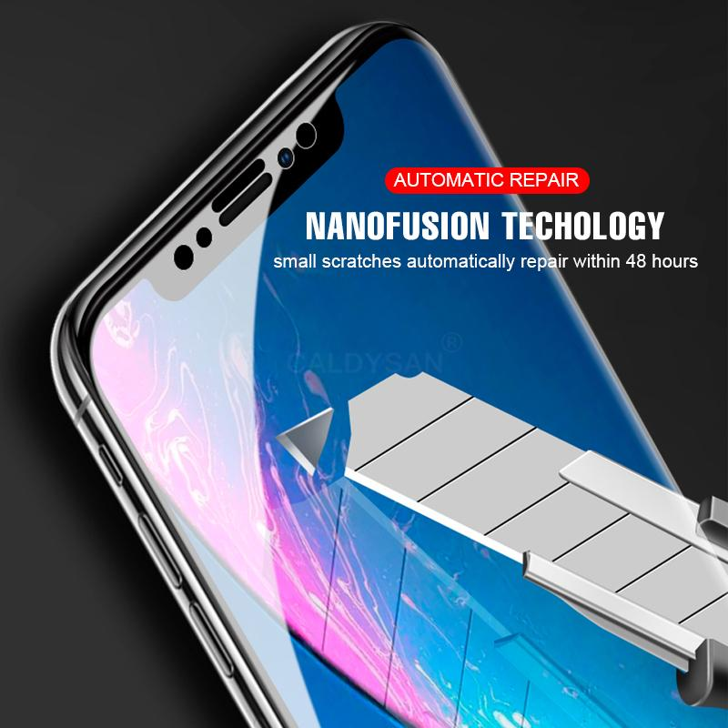 iPhone XR XS Max 6s 7 Plus 8 Full Glue Tempered Glass Full Cover New Screen  Protector Without package