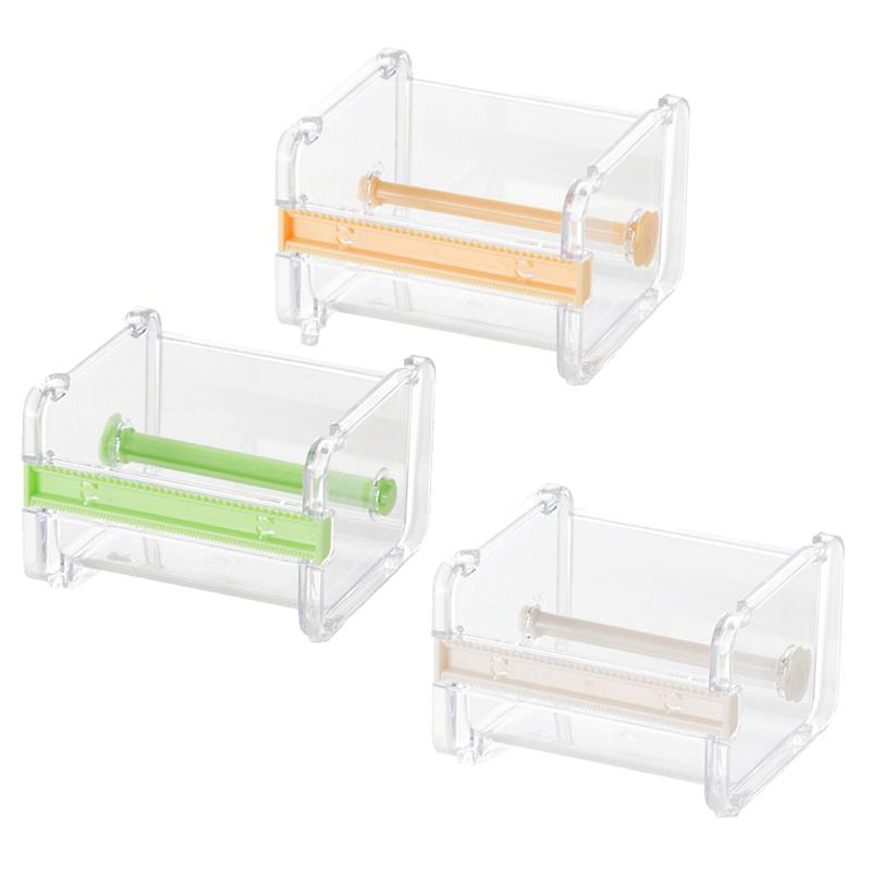 1 PCS Office Supplies Japanese Stationery Masking Tape Cutter Washi Tape Storage Organizer Cutter Holder Office Dispenser