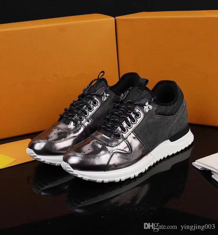 sale retailer 79ba9 07686 Nome Brand Arena Scarpe Uomo Casual Sneaker Red Fashion Designer Alta Top  Economici Sneaker Nero Bianco Scarpe da festa Trainer lw19021802