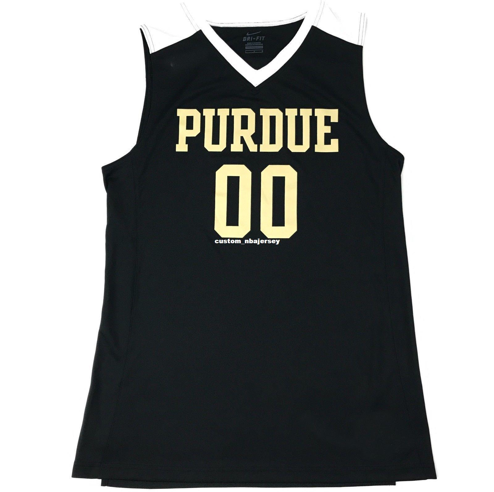 7a3fd0d53cd17 2019 Cheap Custom New Purdue Boilermakers Basketball Jersey Black Gold  White Stitched Customize Any Number Name MEN WOMEN YOUTH XS 5XL From  Custom nbajersey ...