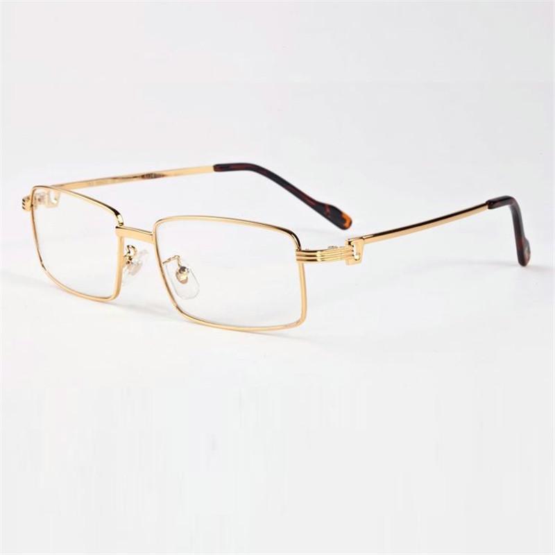 2972138da9f 2019 Vazrobe Glasses Frame Men Gold Silver Eyeglasses Man Brand Name Famous  Designer Prescription Spectacles Fashion Full Rim Eyewear From Taihangshan