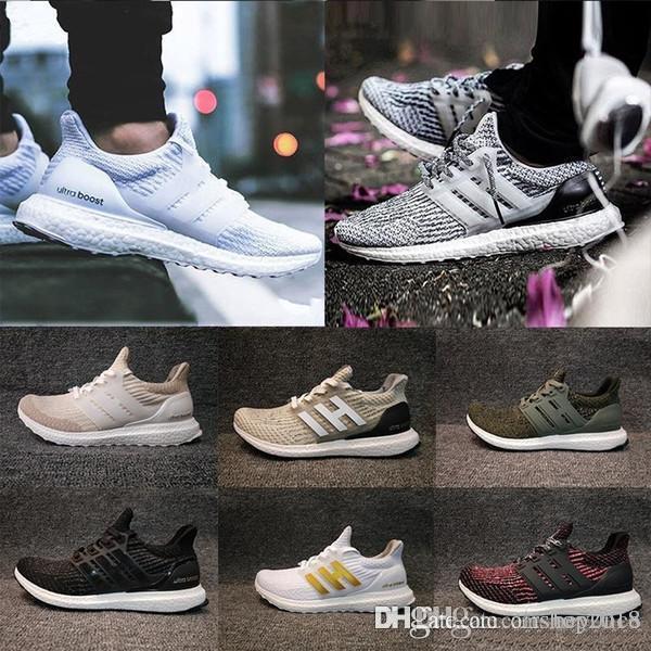 Cheap Casual Shoes 2019 Ultra Boost 3 0 4 0 Triple Men Women Ultraboost 3  Primeknit Black White Mens Womens Trainers Sneakers Tennis Shoe Wholesale  Shoes ... fd78cb512f