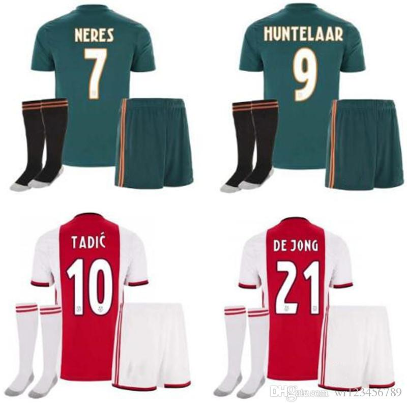 b5992beb3 2019 2019 2020 Ajax Adult FC Soccer Jerseys Home Kits 19 20 Customized  7  NERES   10 TADIC  4 DE LIGT  22 ZIYECH Football Shirt From Wr123456789