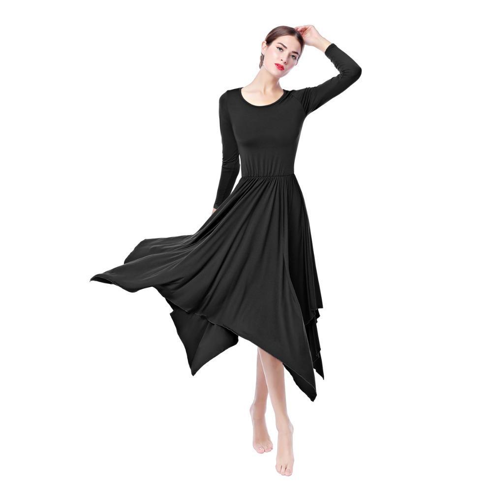 Longue Liturgique Chrétien Salsa Femmes De Robe 2019 Lyrique Irrégulière Cha Nouvelles Costume Culte Louange Danse W29beEIDHY