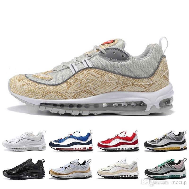 buy popular c81b5 1a37b Shoes 2019 98 Nueva Moda Estilo Clásico Zapatos Para Hombre Zapatos  Deportivos Auténticos Cojín De Aire Zapatillas Altas Zapatillas De Deporte  Atléticas ...