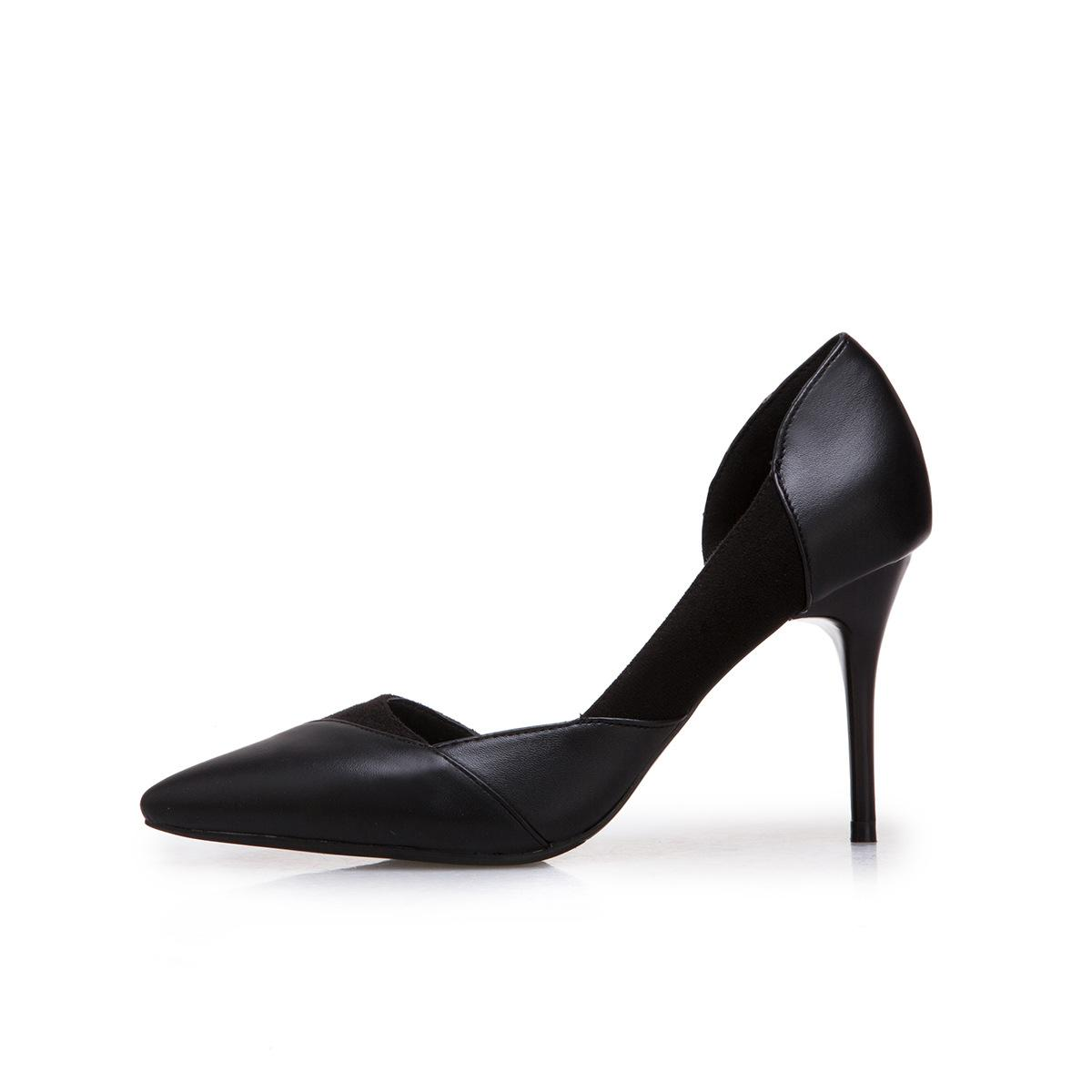 931f08c9af Designer Dress Shoes Sexy Women Thin High Heels Pumps Black Bottom Classics  Pointed Toe Pumps High Heels Wedding Pumps Office Woman Navy Shoes Driving  Shoes ...