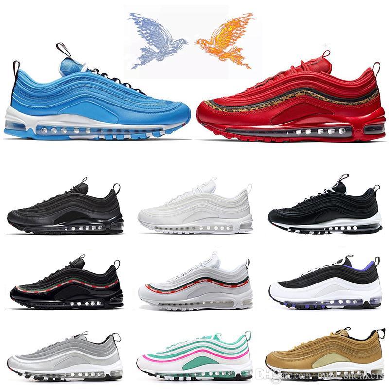 Compre Nike Air Max 97 Oferta Especial 97 Zapatillas De Running Para Hombre  Menta Queen Of Queens Blanco Negro Verde Mujer Zapatillas Deportivas De  Diseño ... 8c5755fbf16fc