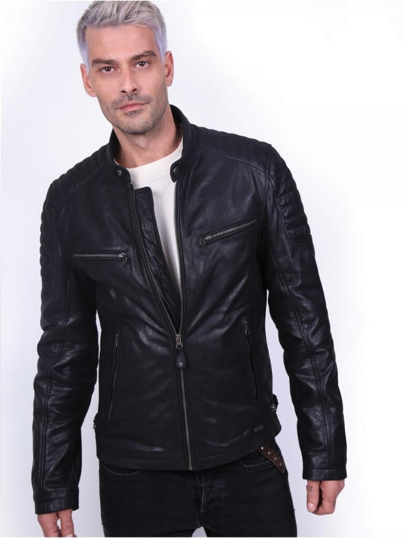 426e6e381c3 VAINAS Delta Mens High quality Leather jacket for men Winter Real leather  jacket Motorcycle jackets Bike jackets