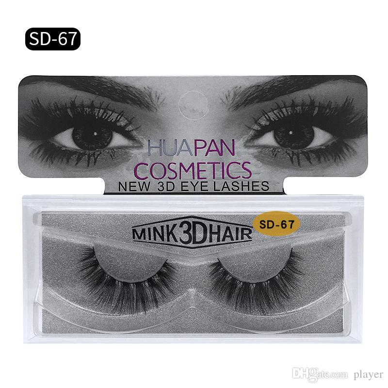 0b50e13bf46 New Brand HUAPAN 3D Mink Eyelashes Eyelashes Messy Eye Lash Extension Sexy  Eyelash Full Strip Eye Lashes DHL 3001324 Individual Lashes Eye Lashes From  ...