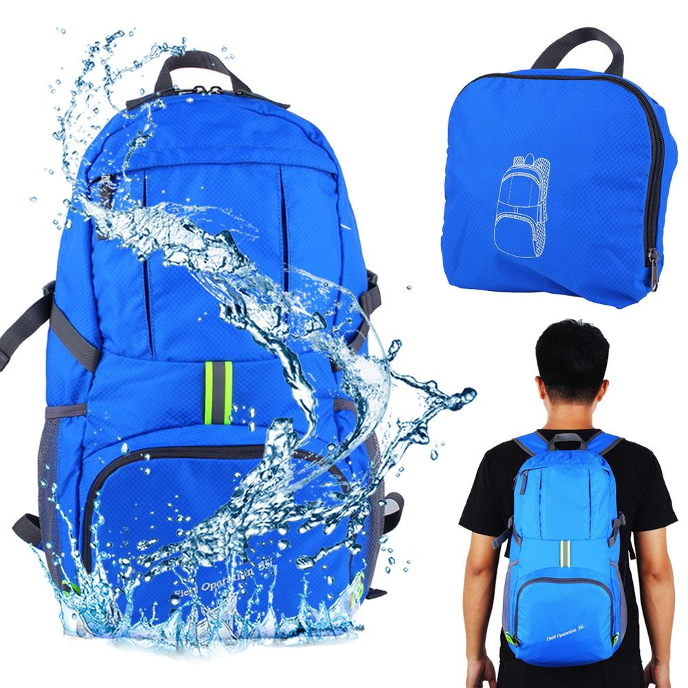 32f8544d45f2 35L Outdoor Sport Waterproof Backpack Foldable Lightweight Packable Bag  Pack Durable Travel Hiking Trekking Camping Backpack