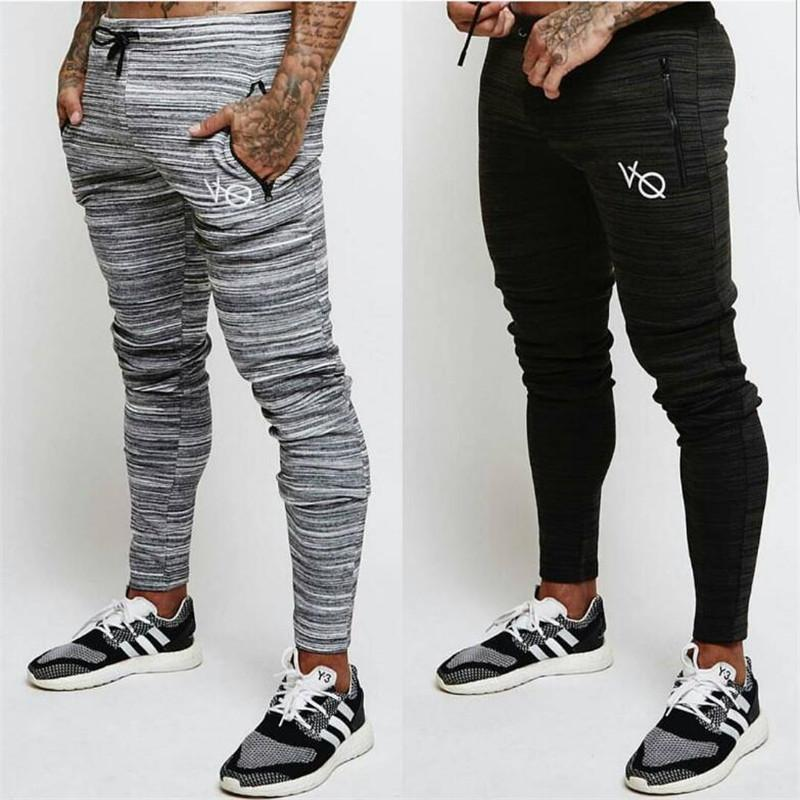 e796871fff3 2019 Brand VQ Men Pants Compress Gyms Joggers Sweatpants Summer Pants Men  Fitness Workout Sporting Fitness Male Breathable Trousers From Cantury