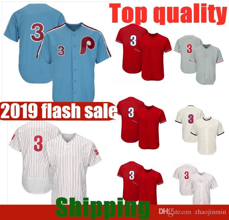 2c59a5767 2019 2019 New Philadelphia Phillies Jersey Bryce Harper White Red Grey  Baseball Jerseys From Zhaojinmin