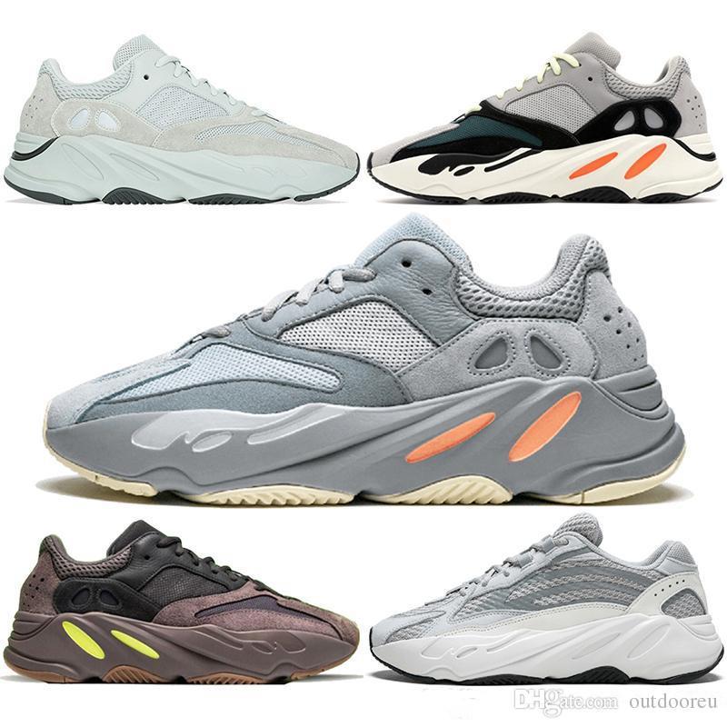 Hommes Sport Sneakers West Course V2 Adidas Statique Pour Designer Vague Chaussures Kanye Femmes Solide Luxe 700s Coureur Mauve Gris 700 De BorWQEdxeC