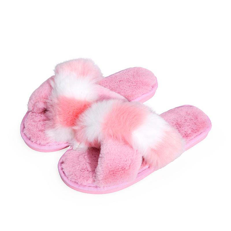 9e38be0e Warm Fur Slippers Fashion Female Winter Slippers Women House Indoor Home  Soft Plush Flats Casual Shoes Woman Ladies Footwear Womens Ankle Boots From  ...
