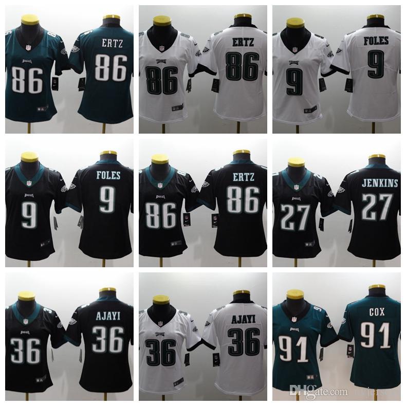 more photos 6f52b d622f Women 13 Odell Beckham Jr jersey 6 Baker Mayfield 10 DeSean Jackson Eagle  Beckham Jr Football Jerseys Eagles foles