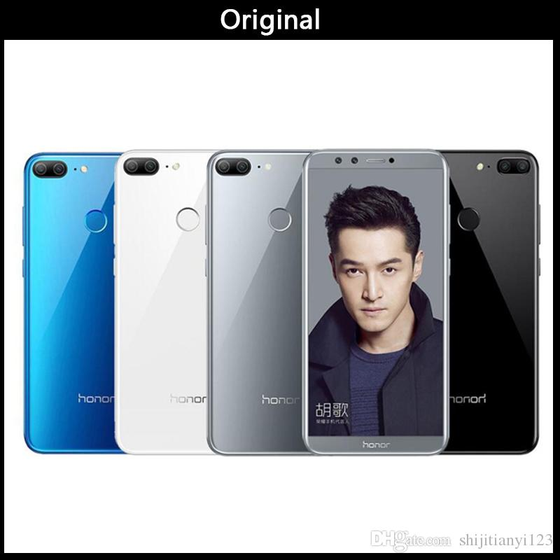 DHL Huawei Honor 9 Lite 4GB 64GB Mobile Phone 5 65 18:9 Full Screen  2160*1080P Octa Core Dual Font Rear Camera 3000mAh Fingerprint