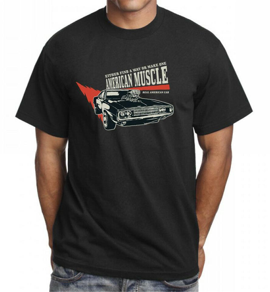 American Muscle Car Way Cool Funny T-Shirt Tee Top Great Gift Present Idea Gift Funny Tee Shirt