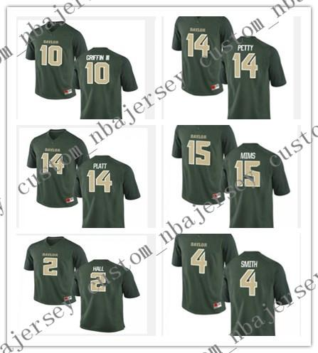competitive price cb0c3 ebd20 Cheap wholesale Baylor Bears Football jerseys 14 Bryce Petty 10 Robert  Griffin III 25 Lache Seastrunk Stitch customiz any name number
