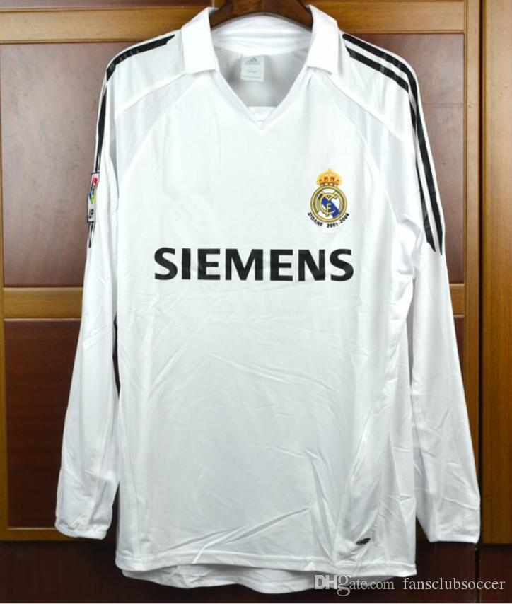Fußball-Trikots MAKELELE real madrid football shirt XL mens champions league home VINTAGE