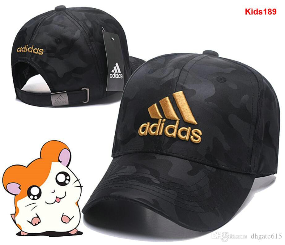 df6fd3cf961 2019 Kids Children AD Ball Caps Fashion Boys Girls Letter Embroidery  Snapback Men Adjustable Woman Lady Hats Golf Sport Sun Hat Casquette 01  From Dhgate615