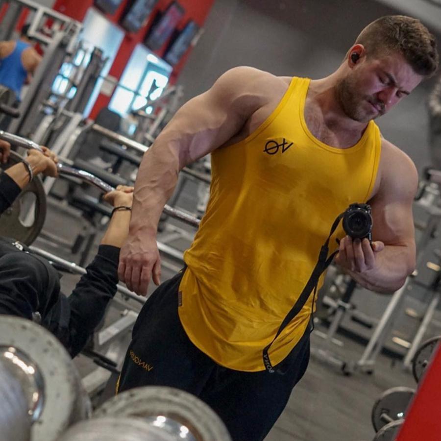 Neue Mode Druck Baumwolle Ärmellose Shirts Tank Top Männer Fitness Mens Singulett Bodybuilding Workout Gym Weste Fitness Männer Schmuck & Zubehör
