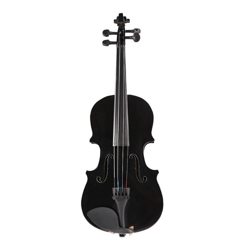 1/8 Kids Children Natural Acoustic Violin Fiddle with Case Box Professional  Bow Rosin Musical Stringed Instrument Gifts