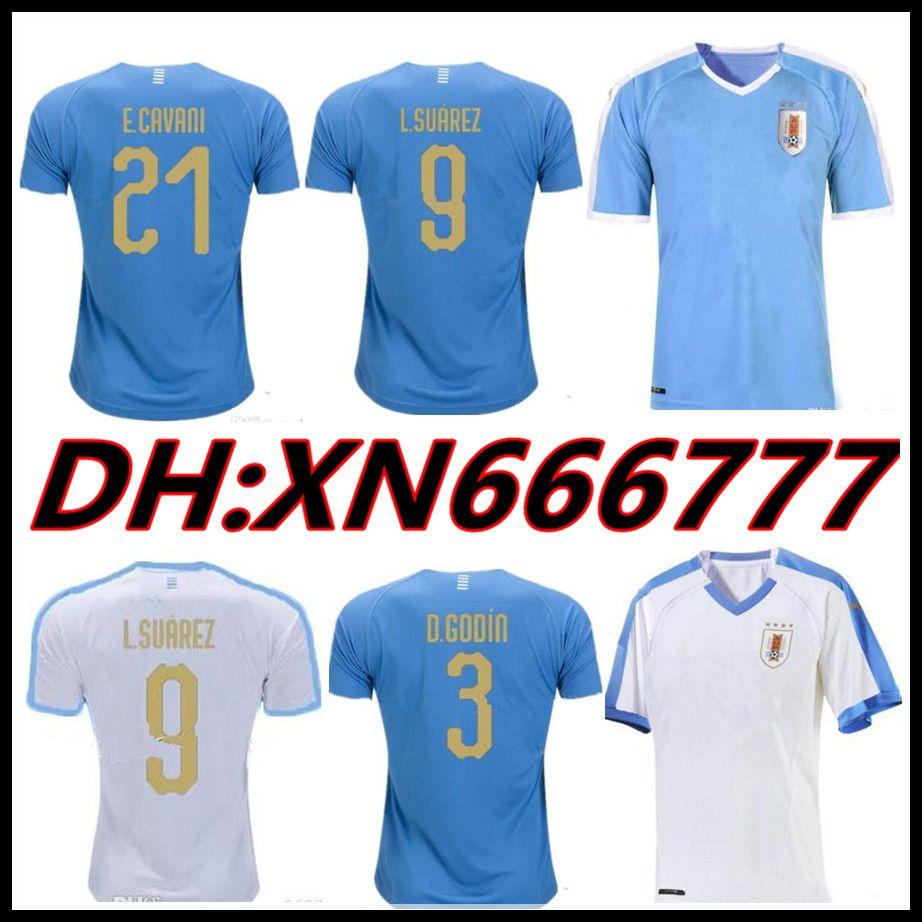 huge selection of f19ed 74fce 2019 Copa America Uruguay Soccer Jersey 19 20 L.suarez E.cavani Soccer  Shirt D.GODIN National Team Camisetas Football Kit Maillot