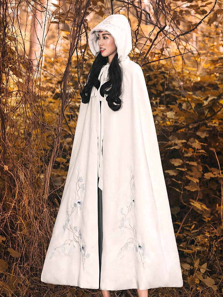 41b46dd4b1ea1 Compre 2019 Nueva Moda Para Mujer Ropa Para Adultos Otoño E Invierno Vintage  Bordado Largo Manto Suelto Abrigo De Lana Femenino A  109.3 Del Gloriana ...