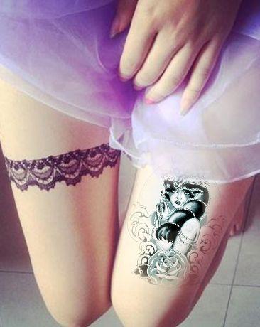 Peacock feather Waterproof Temporary Tattoos men Fake Arm Tattoo sleeve body art flash tattoos tatuagem tatoo sleeve