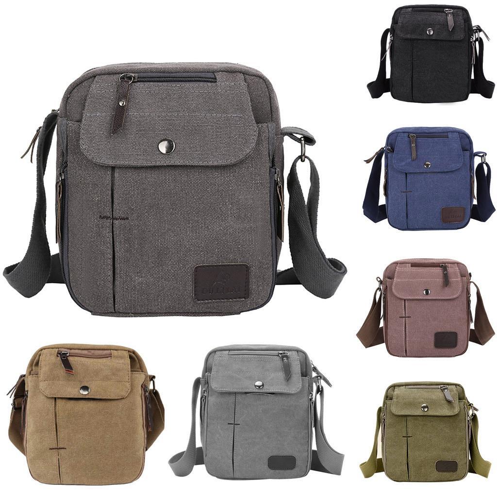 f8a333b94c9c Altbest Men Outdoor Sports Canvas Multifunction Shoulder Bag Messenger Bag  Travel For Male Carteira Masculina Com Ziper  g30 Messenger Bags For Women  ...