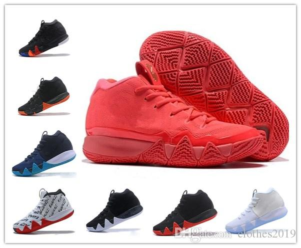new style 4ee66 a6b7e 2018 Cheap New Kyrie Irving 5 5S Basketball Shoes 4 4S Sneakers Sports Red  Outdoor Trainers Shoes