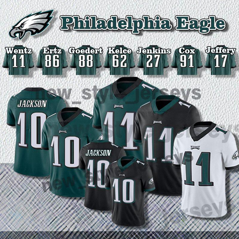 74da5191043 2019 10 DeSean Jackson Philadelphia Men Eagles Jersey 11 Carson Wentz 17  Alshon Jeffery 86 Zach Ertz 91 Fletcher Cox 20 Brian Dawkins Jerseys From  ...