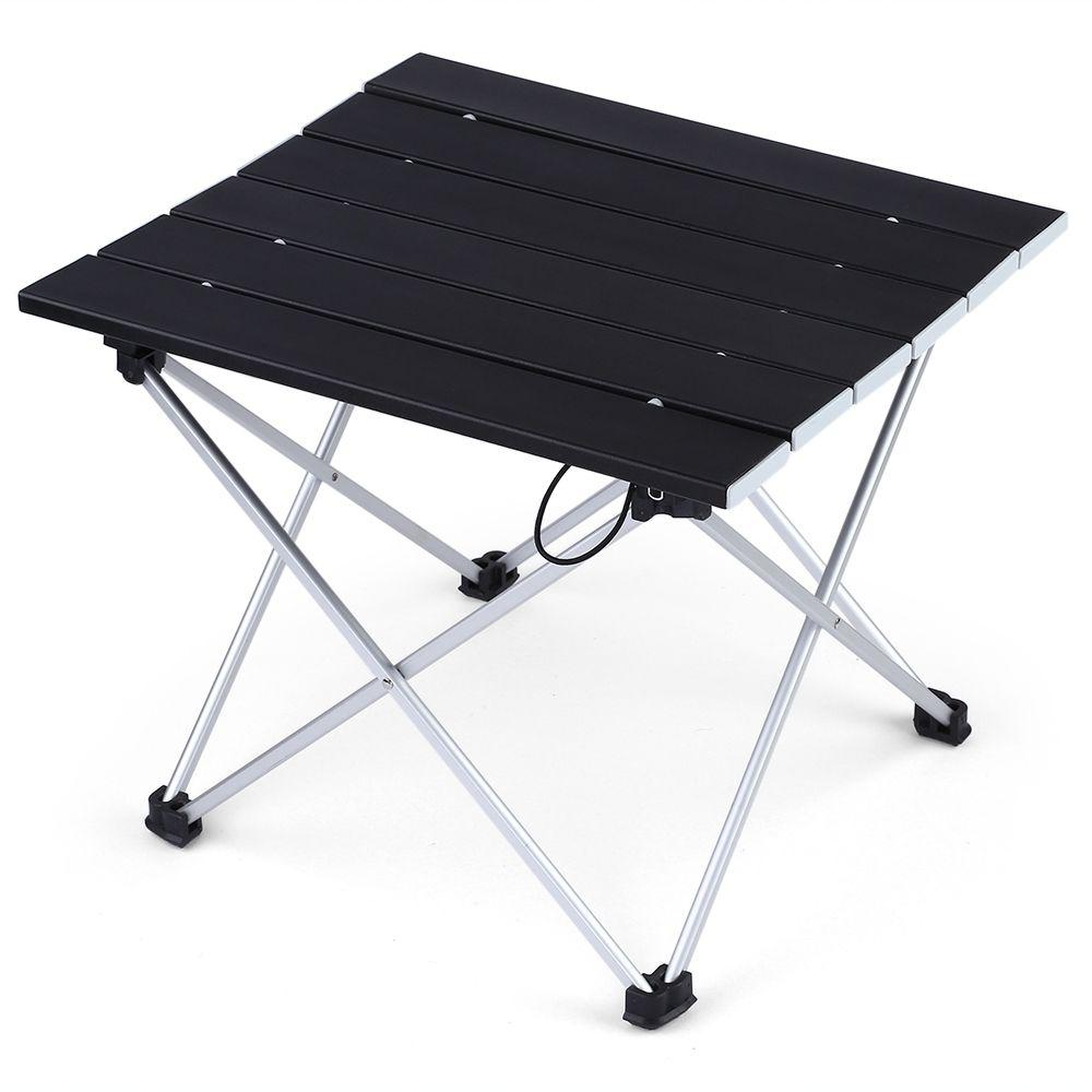 Beau Portable Foldable Mini Table Camping Outdoor Furniture Computer Bed Tables  Picnic Aluminium Alloy Ultra Light Folding Car Desk Plastic Furniture  Outside ...