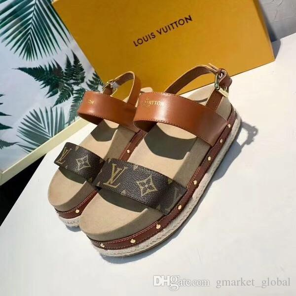 b5fa64b3a745 New Women TIMELAPSE SANDAL 1A4VX0 Women S Platform Sandals Classic Luxury  Designer Sandals With Box Size 35 41 Nude Shoes High Heel Shoes From ...