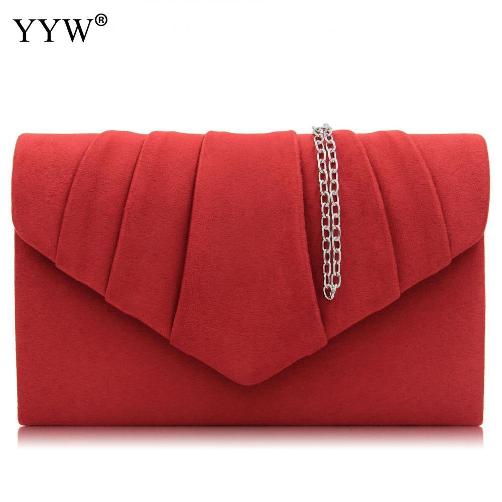 Red Crossbody Bags For Women 2018 New Flap Mini Handbag Envelope ... 7fb2c6caedd97