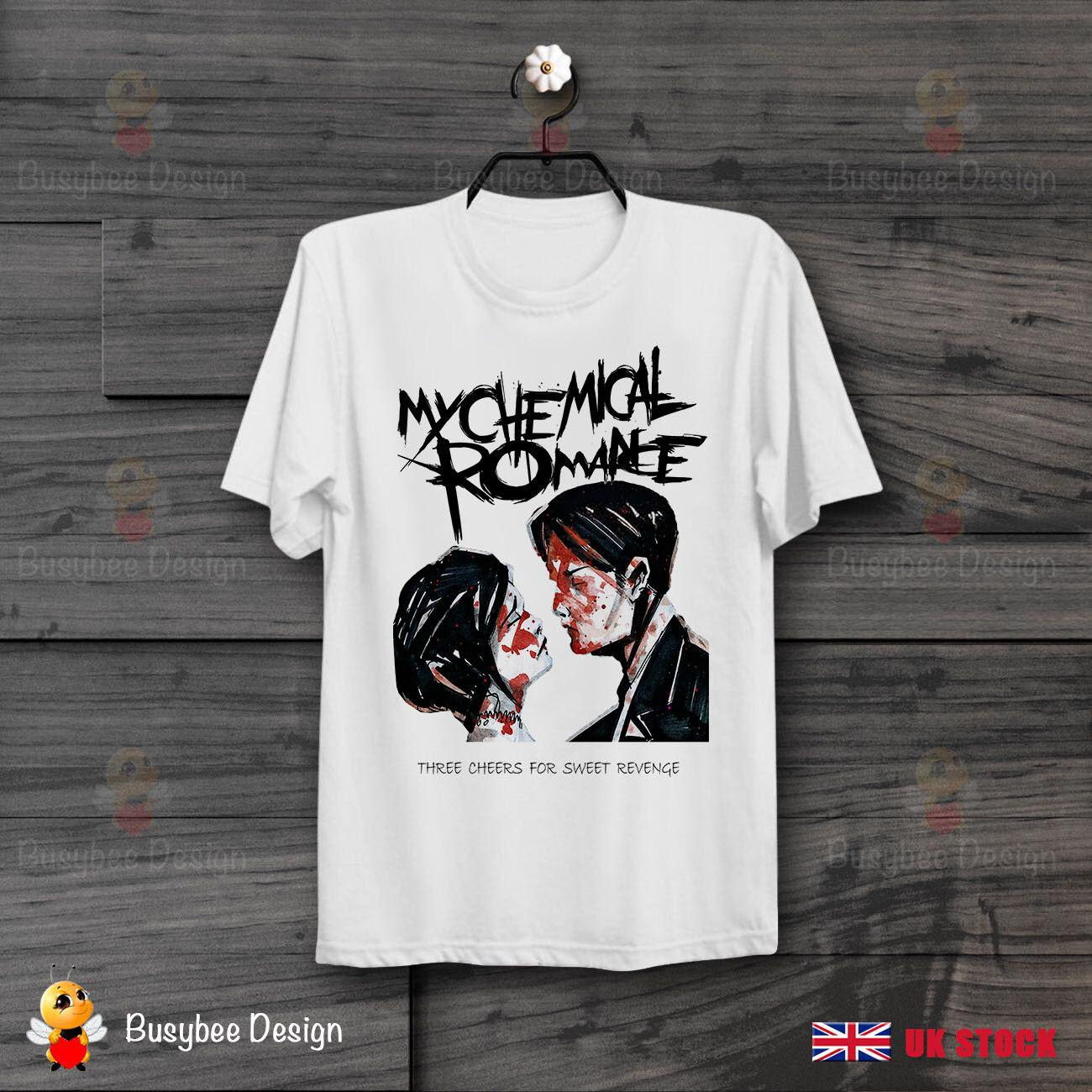 85c18944 My Chemical Romance Three Cheers For Sweet Revenge Cool Unisex T Shirt  B386size Discout Hot New Tshirt Cool Tee Shirts Designs Web T Shirts From  Eightcup, ...