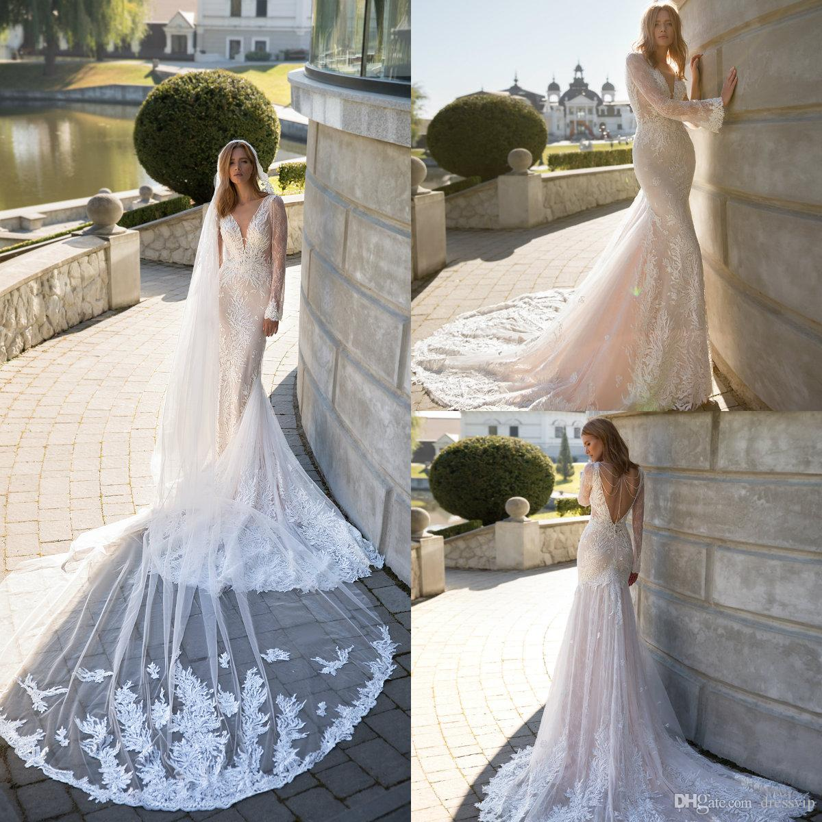 Modest Wedding Dresses 2019: 2019 Modest Wedding Dresses With Long Sleeves Lace