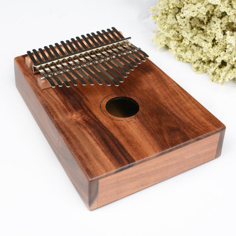 Großhandel Crazy2019 17 Sound Kalimba Daumen Musikinstrument Blossom