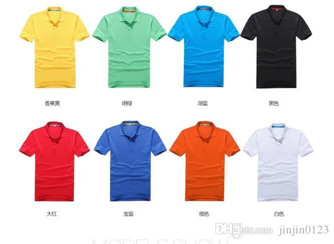 e0999343 Men's Colour Polo Shirt Turn-collar T-shirt Short-sleeve Best-selling Style  Customized Men's Turn-collar Short-sleeve Dry T-shirt Polo Shirt