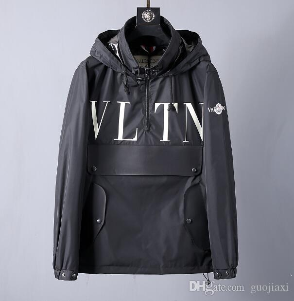 2019 spring and fall new high quality hooded waterproof jacket chinese size ~ tops designer high quality bomber jackets for men