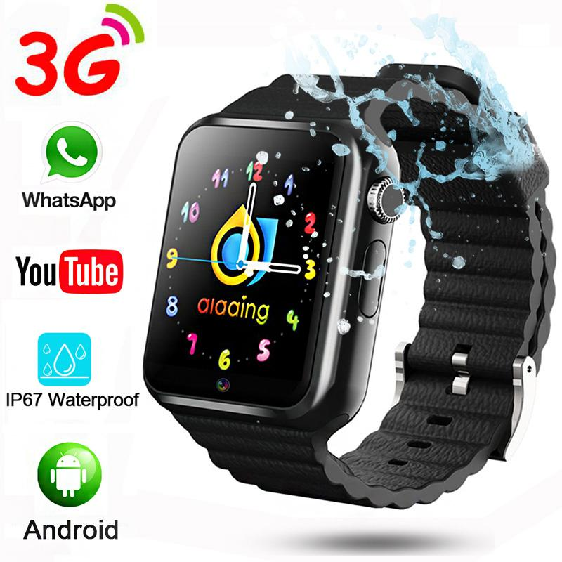1f60b2e5ef1 3G Child Boys Girls Kids Watch Wifi Video Call Camera Whatapp Youtube APP  IP67 Swimming Smart Watch SmartWatch 32G V7w Best Cheap Smartwatch Best ...
