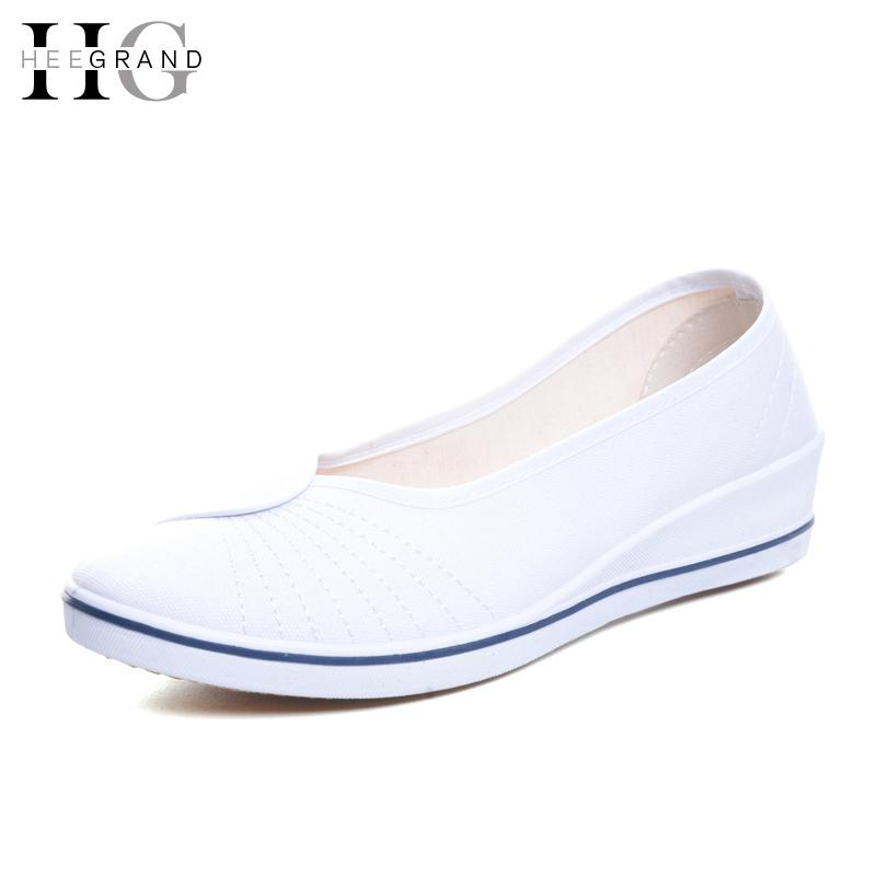 Shoes Hee Grandwomen Work Platform Wedge Slip On Xwd3268 Espadrillesapatos Female Woman