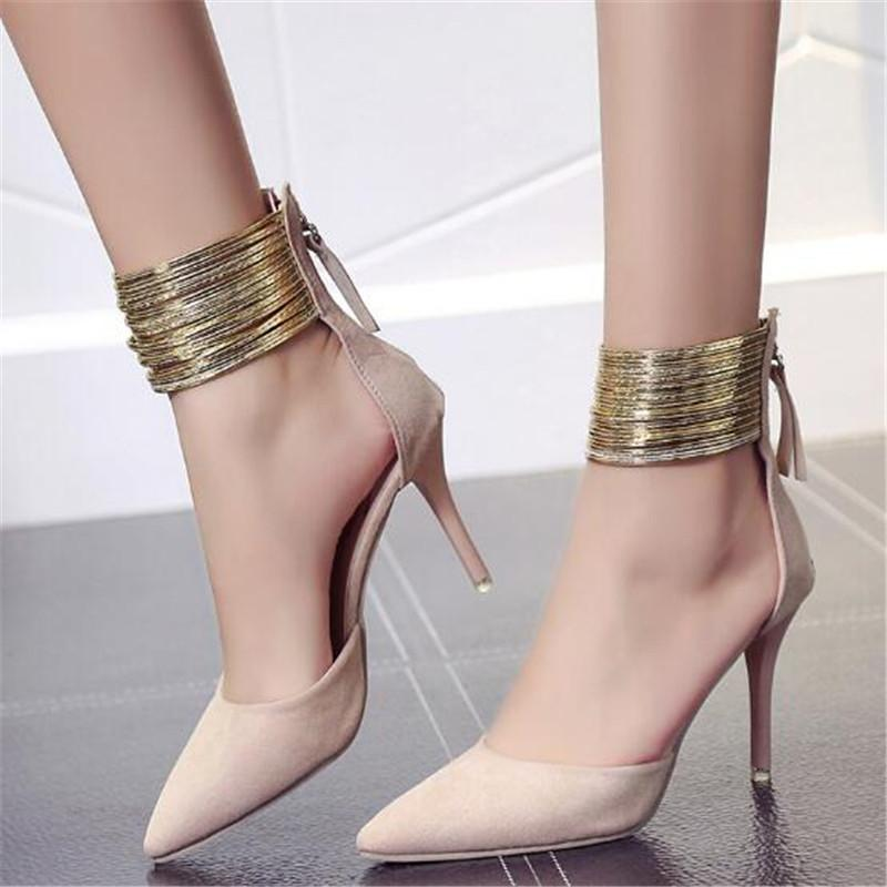 Shoes Mary Sandals 2019 Sandalias Summer Mujer Woman Heels Fetish Pumps Janes Sexy Women High 5q3A4jRL