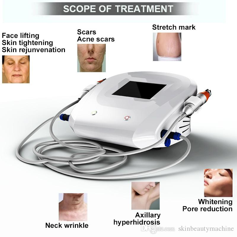 Microneedle rf and fractional radiofrequency beauty machine/ rf medical  device/ rf skin rejuvenation aesthetic salon equipment