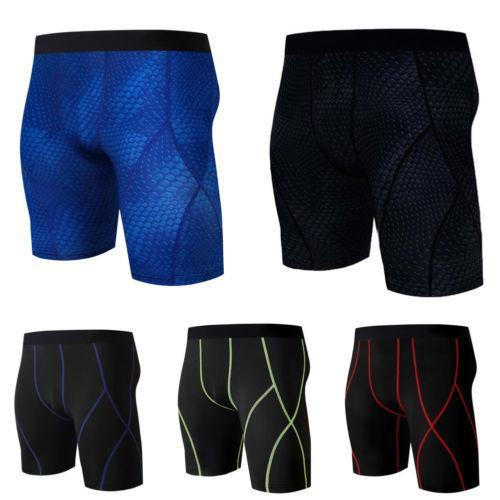 2018 New Style Summer Running Short Men Gym Sports Compression Wear Under Base Layer Swimmg Short Athletic Tight Plus Size M-3XL