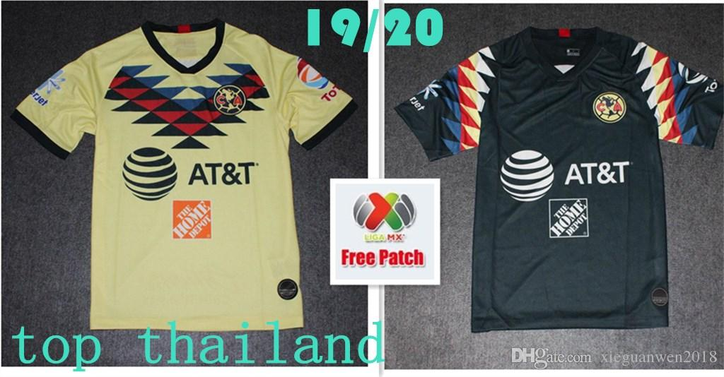8a8456a9a 2019 Club America Soccer Jerseys 2020 Home Away Third 19 20 Liga MX O. PERALTA G.RODRIGUEZ MATEUS MARTINEZ Fans Tops Top Quality Football Shirt  From ...