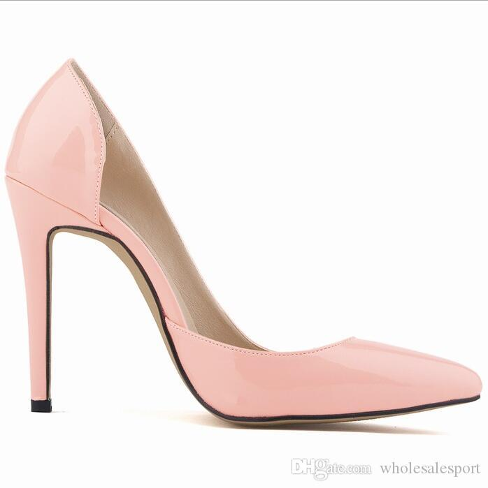 ca7ae939bd1537 New Arrival Pumps Sandals Perspex Heel Stilettos High Heels Point Toes  Womens Party Shoes Nightclub Pump 35 42 Ladies Shoes Loafers For Men From  ...