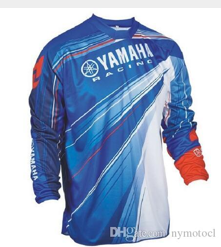 Wholesale Motocross Jersey Downhil Mountain Bike DH Shirt MX Motorcycle Clothing Ropa FIT For yamaha Men Quick Dry MTB Y